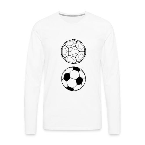C60 Soccer / Fussball, Ms T-Shirt - Männer Premium Langarmshirt