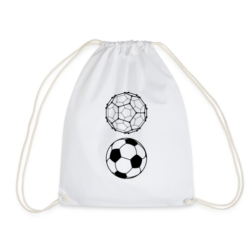 C60 Soccer / Fussball, Cotton Gym Bag - Turnbeutel