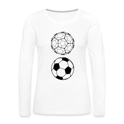 C60 Soccer / Fussball, Ws T-Shirt - Frauen Premium Langarmshirt