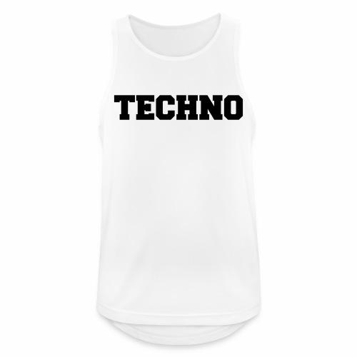 Techno V3 - Tanktop - Männer Tank Top atmungsaktiv