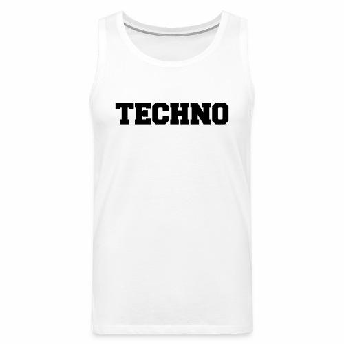 Techno V3 - Tanktop - Männer Premium Tank Top