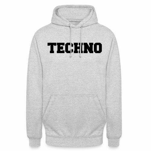 Techno V3 - Hoodie - Unisex Hoodie