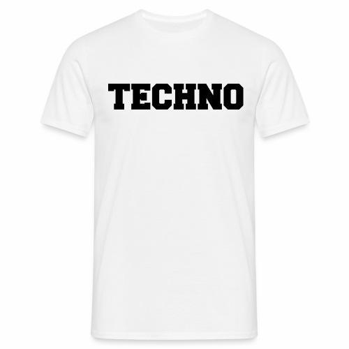 Techno V3 - T-Shirt - Männer T-Shirt