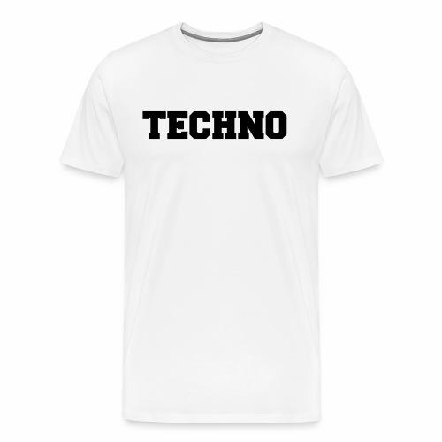 Techno V3 - T-Shirt - Männer Premium T-Shirt