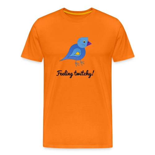 Feeling twitchy - Men's Premium T-Shirt