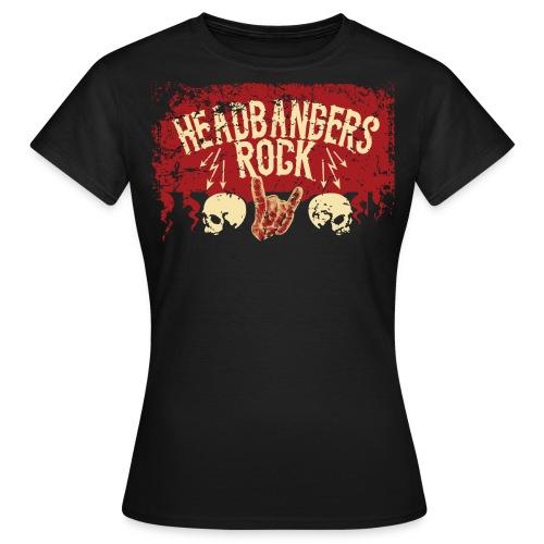 HR 2018 bunch female - Dame-T-shirt