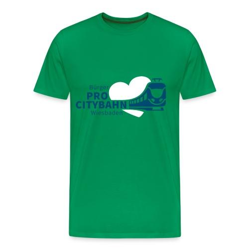 ProCB T-Shirt, Logo vorne groß - Männer Premium T-Shirt