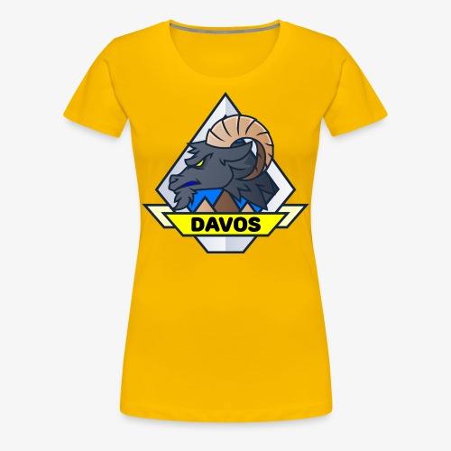 Davos Steinbock (Lady) - Frauen Premium T-Shirt