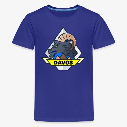 Davos Steinbock (Teen) - Teenager Premium T-Shirt