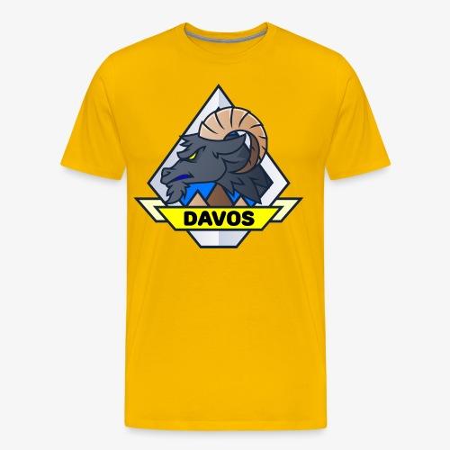 Davos Steinbock (Man) - Männer Premium T-Shirt