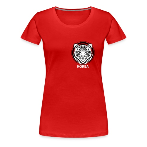 Korea - Frauen Premium T-Shirt