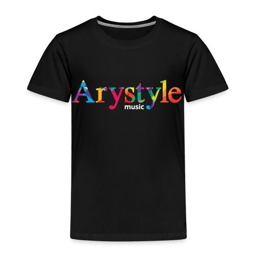 T-shirt Arystyle Multicolor 2 - T-shirt Premium Enfant
