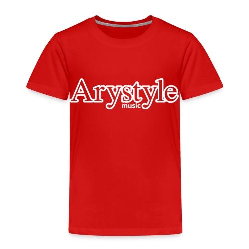 T-shirt Arystyle Contour Blanc - T-shirt Premium Enfant