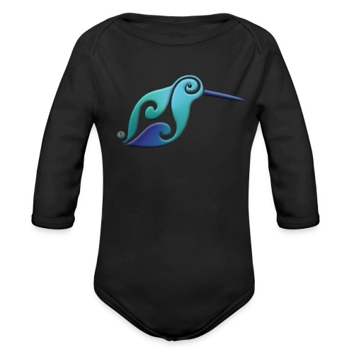 Kiwi Baby rompertje, lange mouwen - Organic Longsleeve Baby Bodysuit