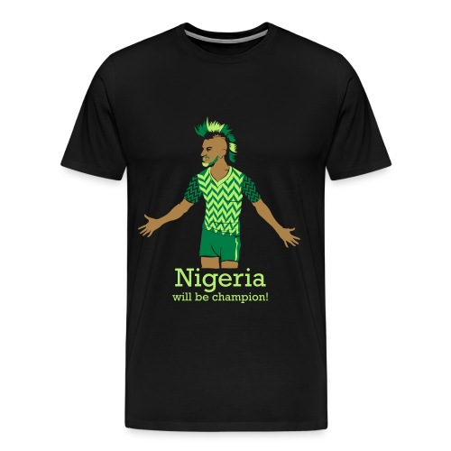 Nigeria - Männer Premium T-Shirt