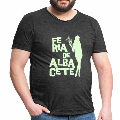 Tentación de Feria - Camiseta vintage hombre