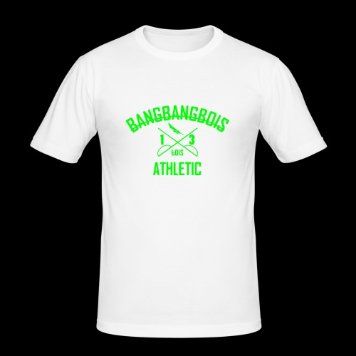 -X- BNGB ATHLETIC -X- - Männer Slim Fit T-Shirt