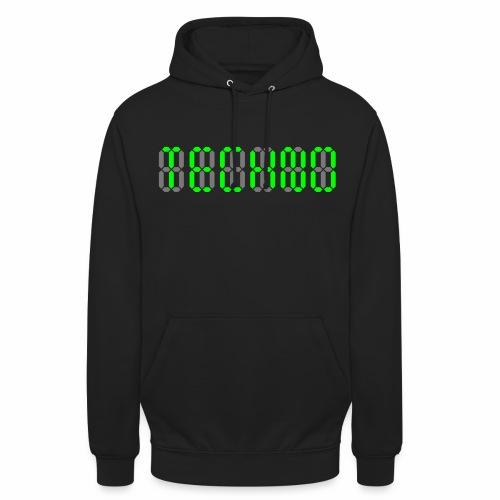 Techno Display - Hoodie - Unisex Hoodie
