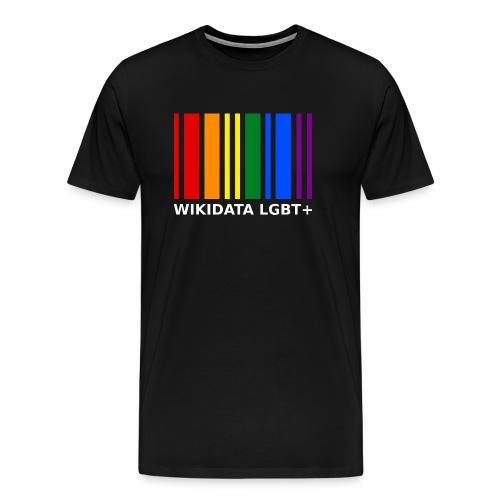 Wikidata LGBT homme - T-shirt Premium Homme