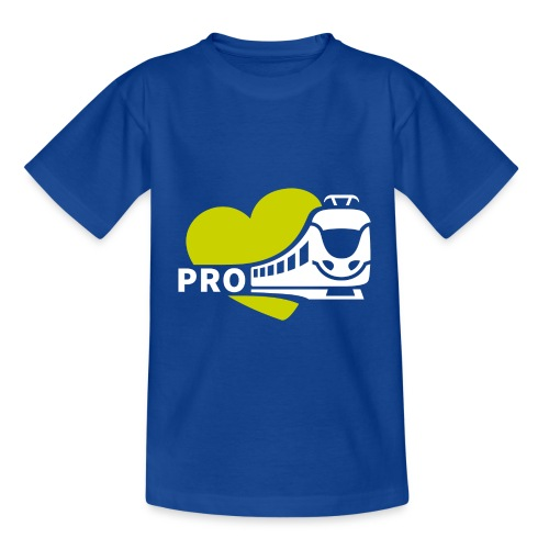 Kinder T-Shirt Standard blau - Kinder T-Shirt