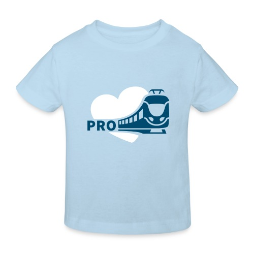 Kinder Bio-T-Shirt hellblau - Kinder Bio-T-Shirt