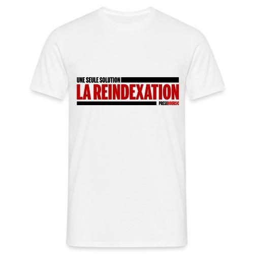 PrésiBours€ Réindexation - T-shirt Homme