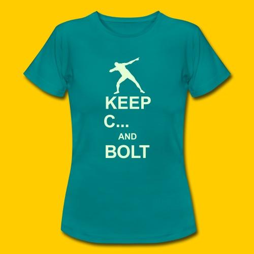 Keep calm and Bolt - Women's T-Shirt