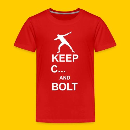 Keep calm and Bolt - Kids' Premium T-Shirt