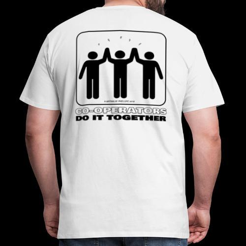 Co-operators Do It Together - Men's Premium T-Shirt