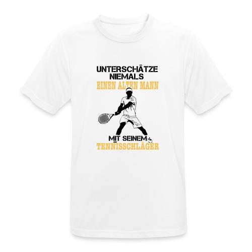 Tennis - Männer T-Shirt atmungsaktiv