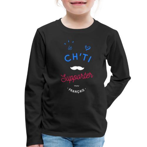 le ch'ti supporter - T-shirt manches longues Premium Enfant