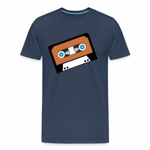 Kassette - Männer Premium T-Shirt