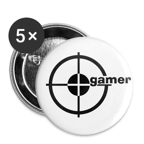 gamer buttons - Middels pin 32 mm (5-er pakke)