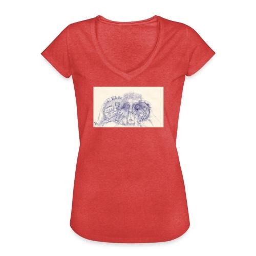 Eyefornature Vintage T-shirt - Frauen Vintage T-Shirt