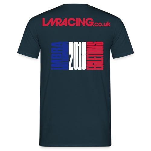 WC Egletons 2018 dark blue # - Men's T-Shirt