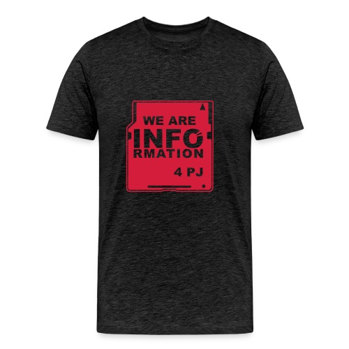 We are Information - Men's Premium T-Shirt