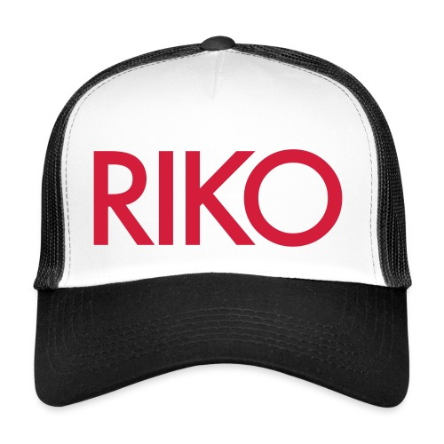 RIKO Trucker Cap [red] - Trucker Cap