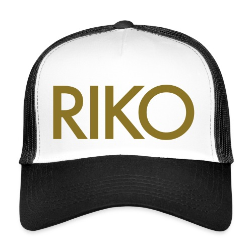 RIKO Trucker Cap [gold] - Trucker Cap