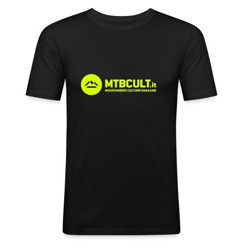 MtbCult T-Shirt cotone - Maglietta aderente da uomo