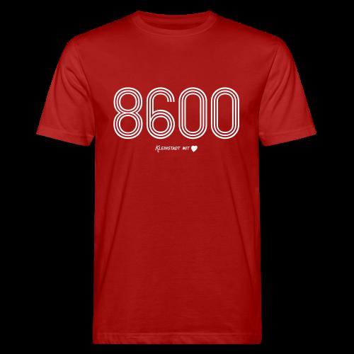 8600 Bamberg - Herren BIO T-Shirt - 100% Baumwolle - #KLEINSTADT - Männer Bio-T-Shirt