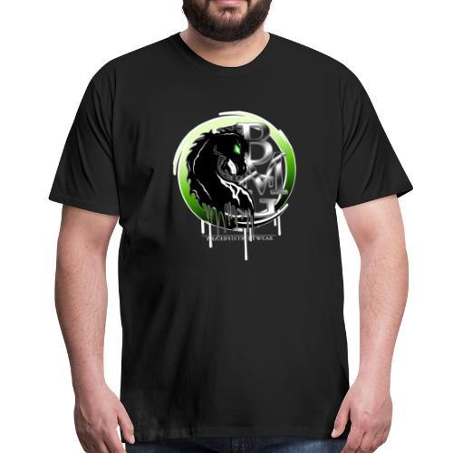 BMG Evil Horse - Männer Premium T-Shirt