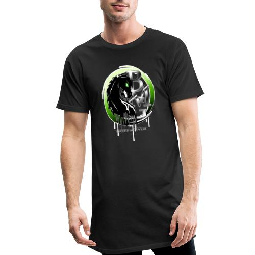 BMG Evil Horse - Männer Urban Longshirt