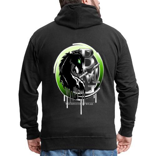 BMG Evil Horse - Männer Premium Kapuzenjacke