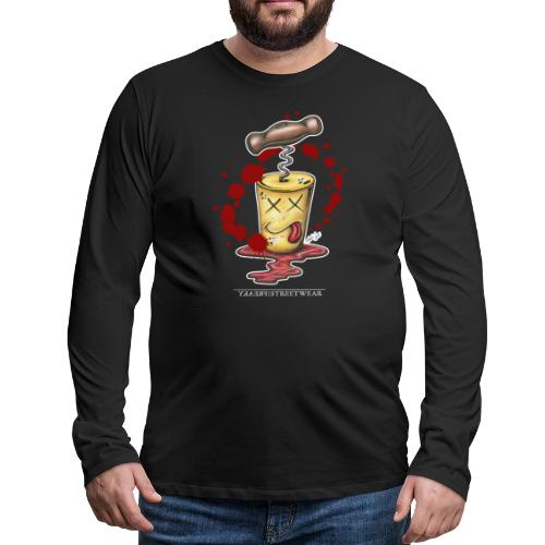 Korkenmord - Männer Premium Langarmshirt