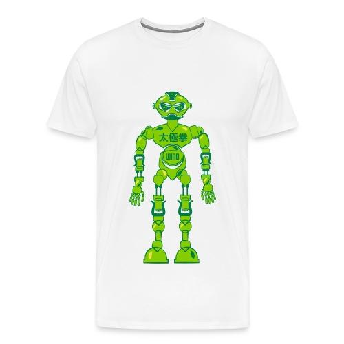 Tai Chi Robot - Männer Premium T-Shirt
