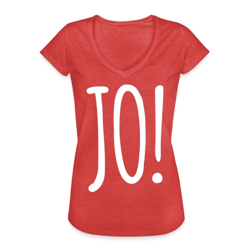 JO! - women - Frauen Vintage T-Shirt