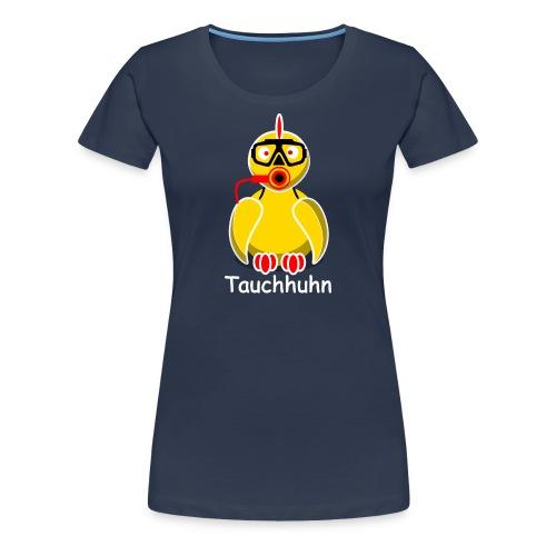 Tauchhuhn - Für dunkle Shirts (w) - Frauen Premium T-Shirt