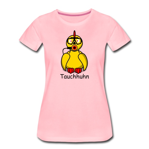 Tauchhuhn - Für helle Shirts (w) - Frauen Premium T-Shirt