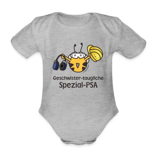 Geschwister-taugliche Spezial-PSA - Baby Bio-Kurzarm-Body