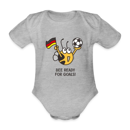 BEE READY FOR GOALS! - Baby Bio-Kurzarm-Body